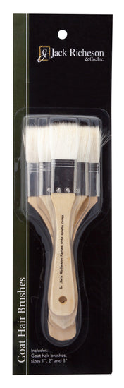 Goat Hair Brush Set/3