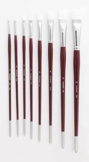 White Synthetic Brushes