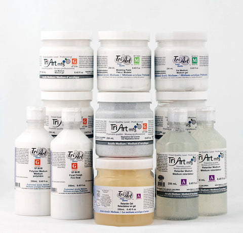 Tri-Art Mediums - 250ml