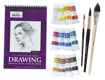 Keiko Tanabe Instructor Watercolor Workshop Kit