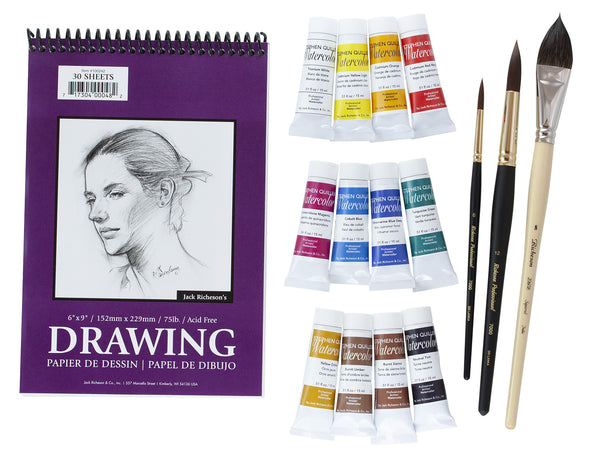 Keiko Tanabe Instructor Watercolor Workshop Kit (discontinued)