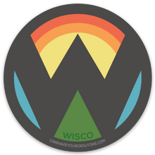 Wisco Sticker FREE SHIPPING