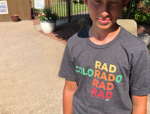 ColoRADo Unisex short sleeve t-shirt