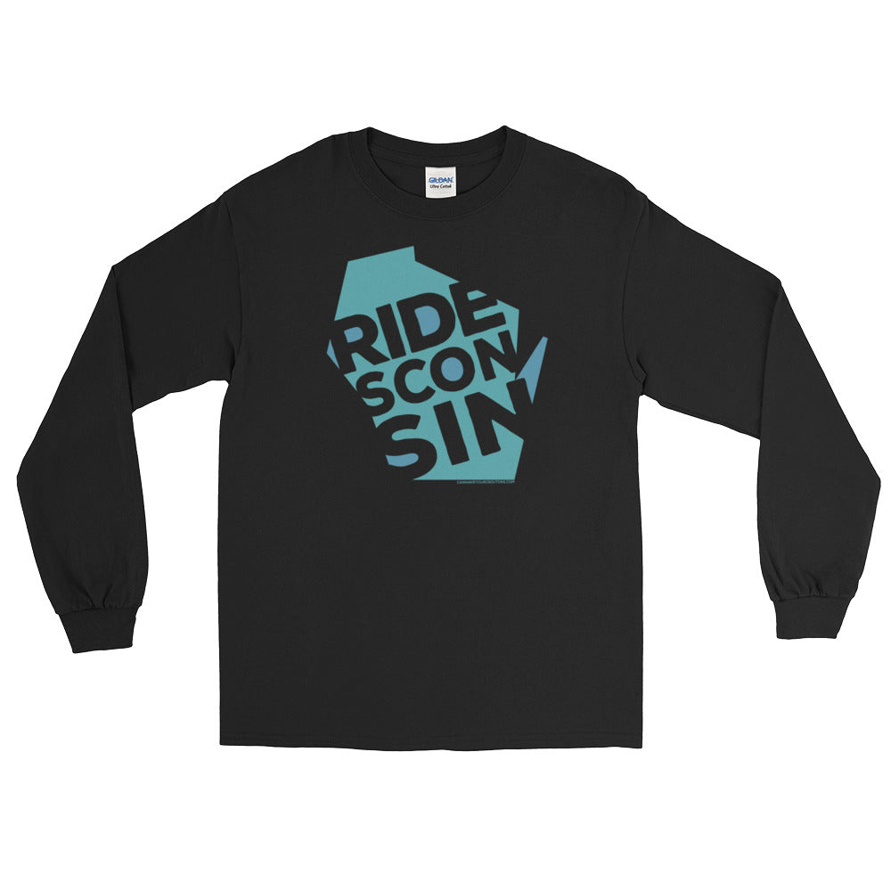 RIDEsconsin long-sleeve t-shirt