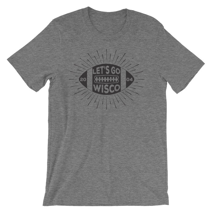 Let's Go Wisco stadium tee