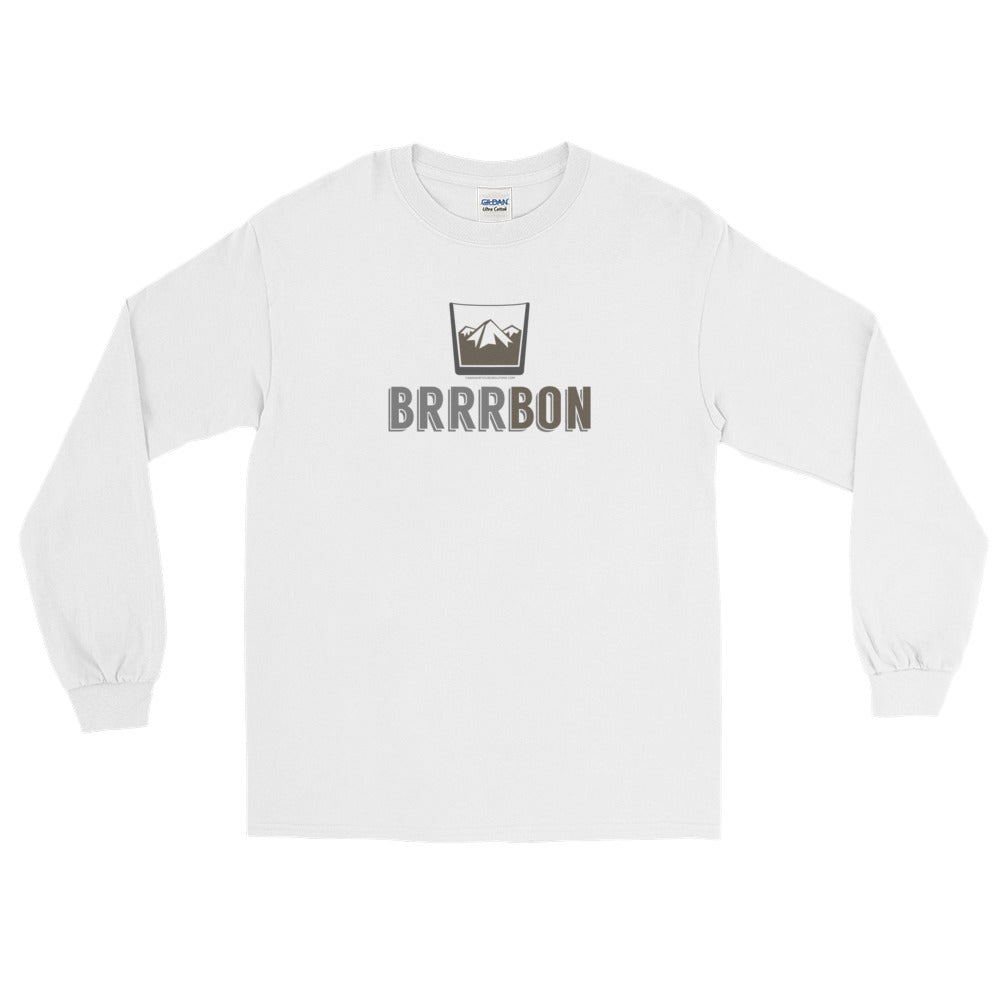 Brrrrrbon long-sleeve tee