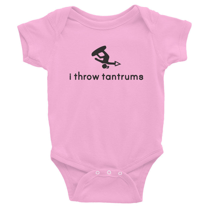 Girl Tantrums Infant Bodysuit