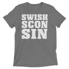 SWISHsconsin In Your Face tee