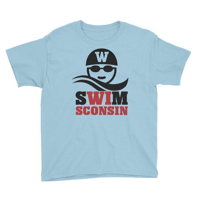 Swimmer Head Youth Short Sleeve T-Shirt