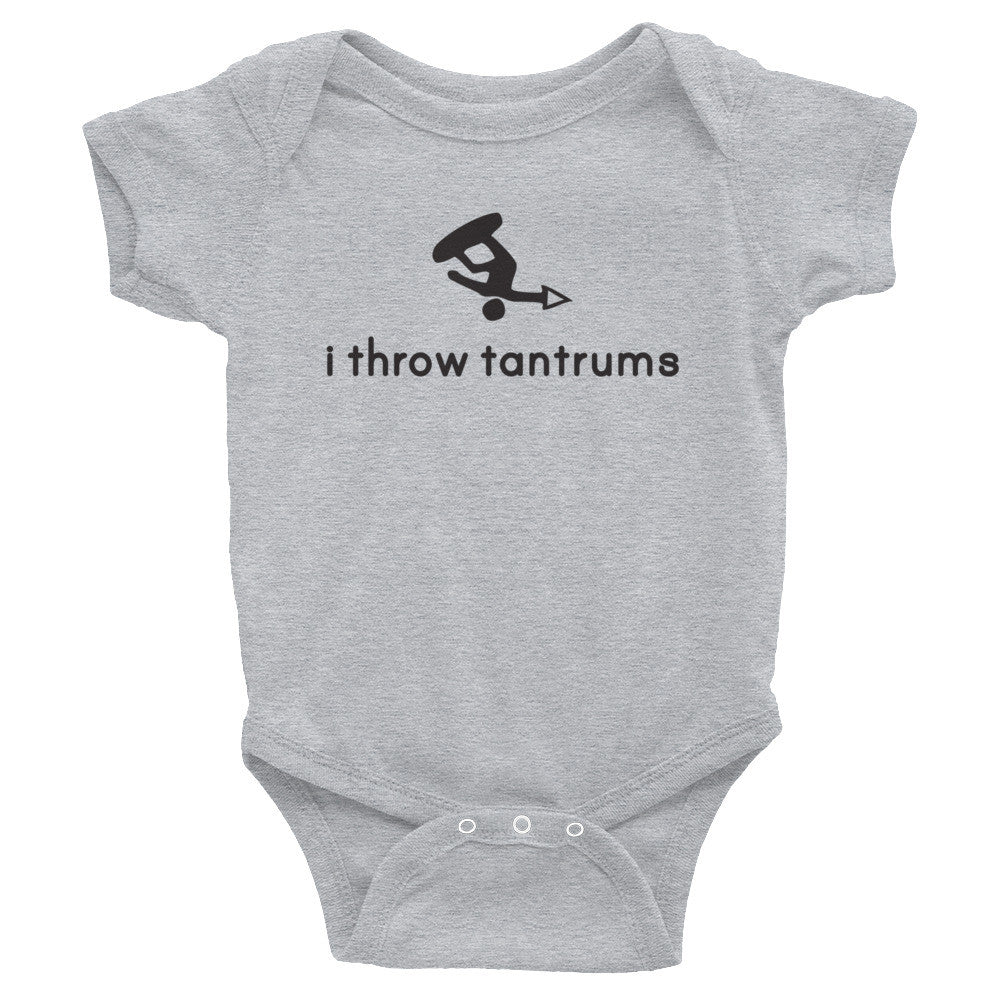 Boy Tantrums Infant Bodysuit