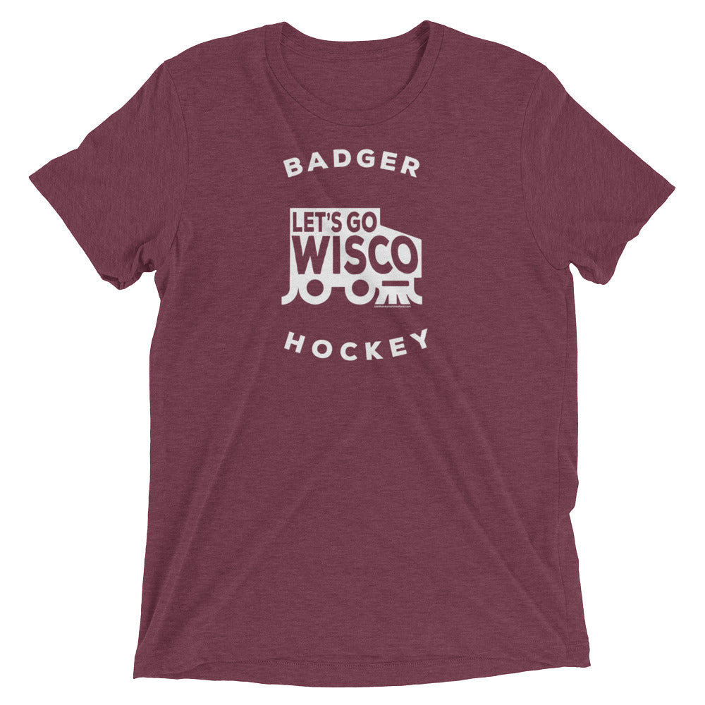 Zamboni Badger Hockey Tee
