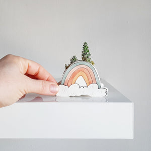 Load image into Gallery viewer, Ceramic Planter - Mini Rainbow