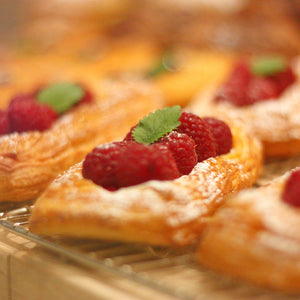 Raspberry Vanilla Danish