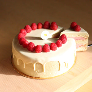 Load image into Gallery viewer, R & P (raspberry & pistachio)