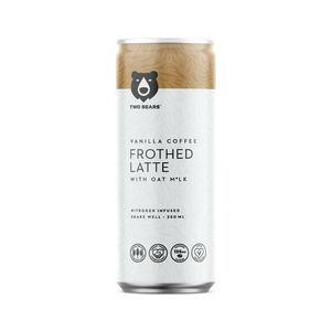 Load image into Gallery viewer, Frothed Vanilla Oat Milk Latte - 250 ML