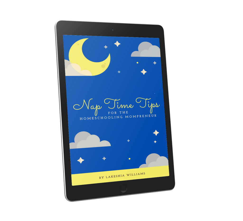 Nap Time Tips for the Homeschooling Mompreneur [FREEBIE]