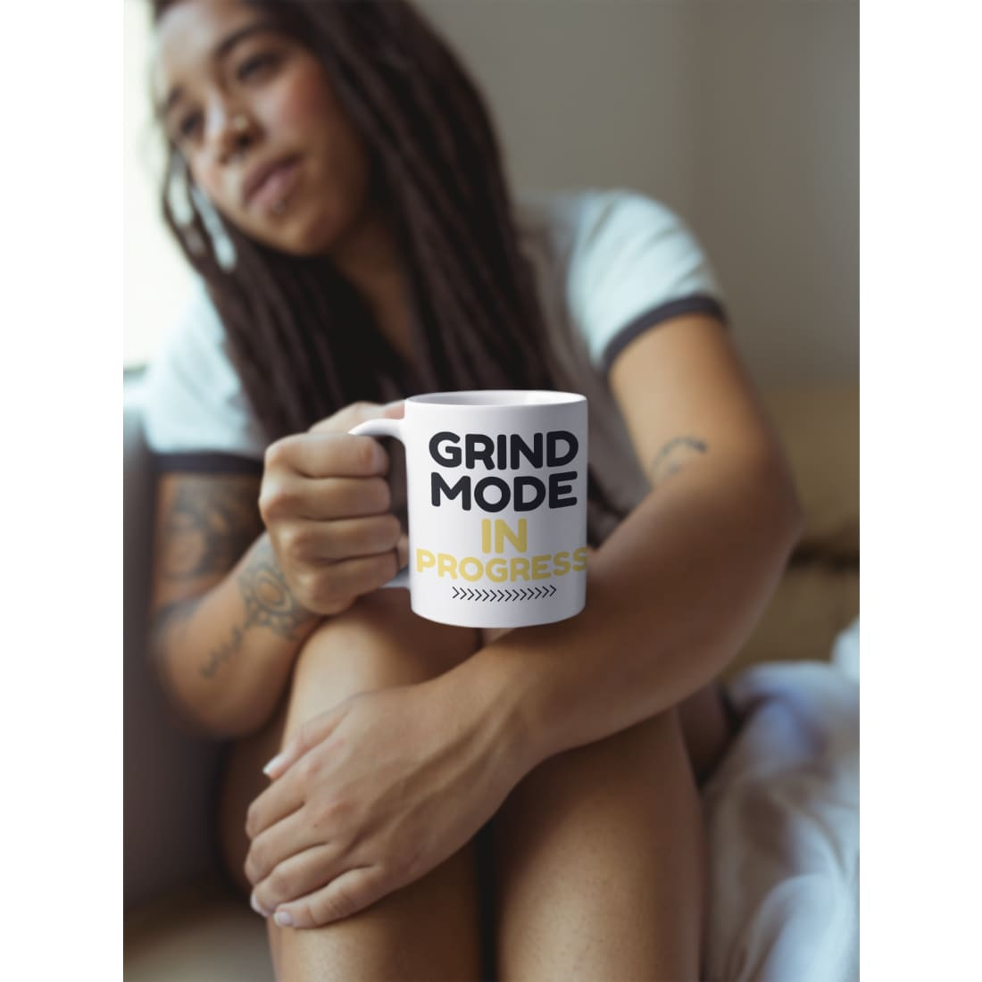 Grind Mode In Progress Coffee Mug - Coffee Mug