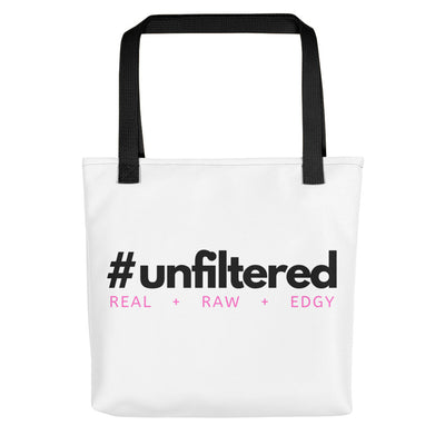 #UNFILTERED Tote Bag