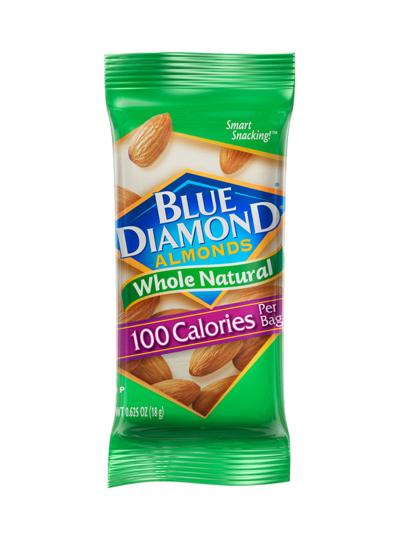 Individual Packet of 100 Calorie On-The-Go, Whole Natural Almonds