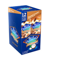 Caddie of 12, 1.5oz Tubes of Toasted Coconut Almonds