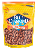 Honey Roasted Almonds, 16oz Bag