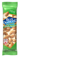 Individual packet of 1.5oz Tube of Whole Natural Almonds