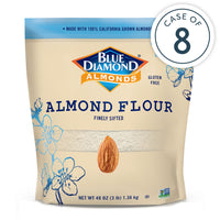 Case of 8, 3lb Bags of Almond Flour