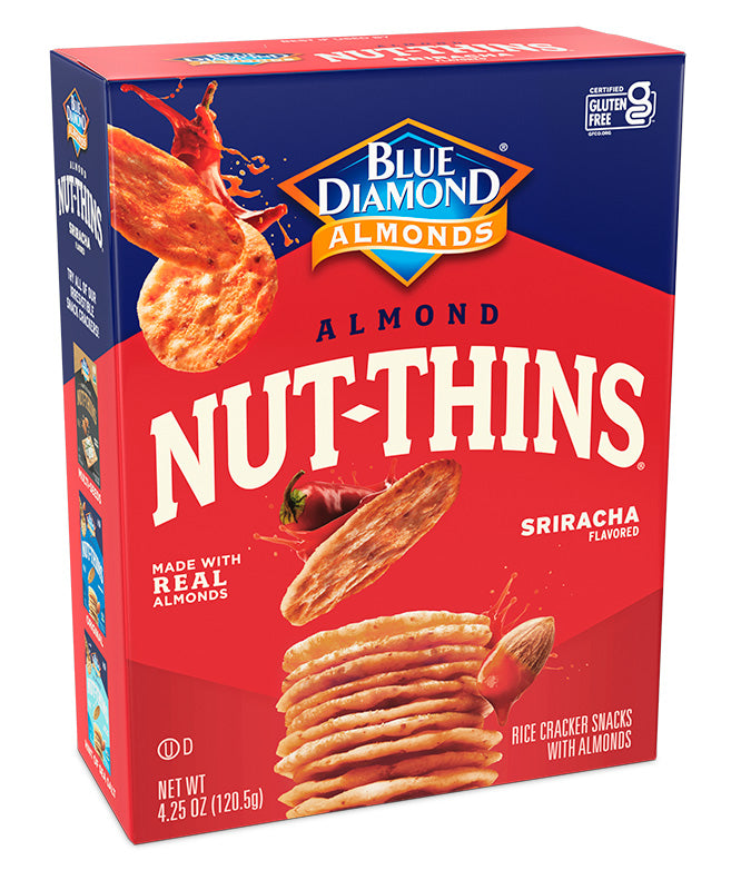 Sriracha Nut-Thins, Case of 6
