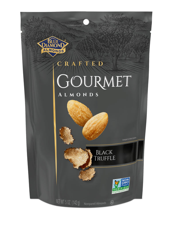 Gourmet Almonds: Black Truffle, 5oz Bags
