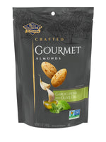 Gourmet Almonds: Garlic, Herb and Olive Oil, 5oz Bags