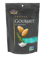 Rosemary and Sea Salt Gourmet Almonds, 5oz Bag