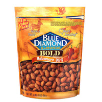 Habanero BBQ Almonds, 16oz Bags Single