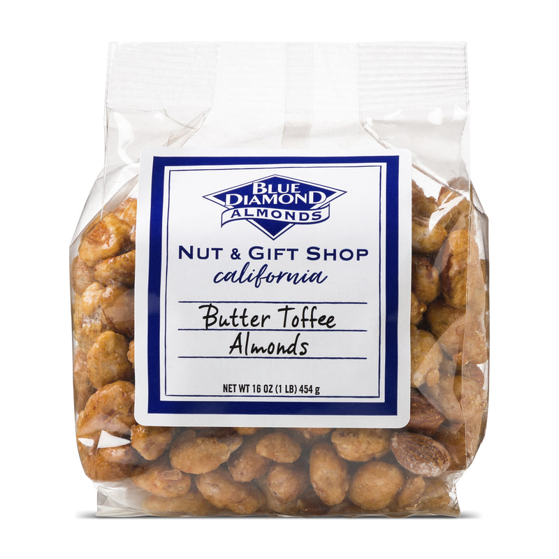 Bag of Butter Toffee Almonds