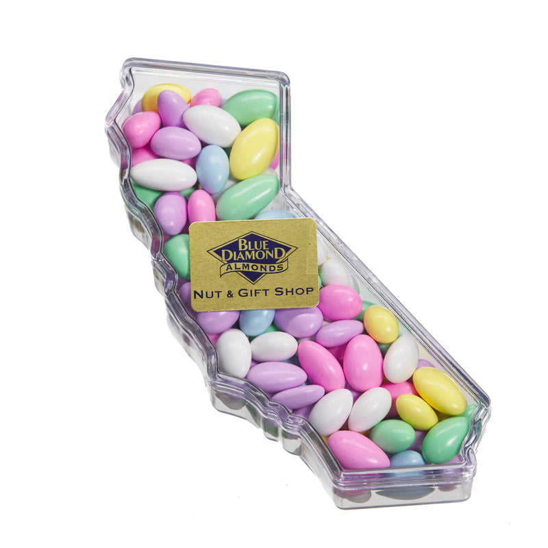 Jordan Almonds: State of California Gift Box