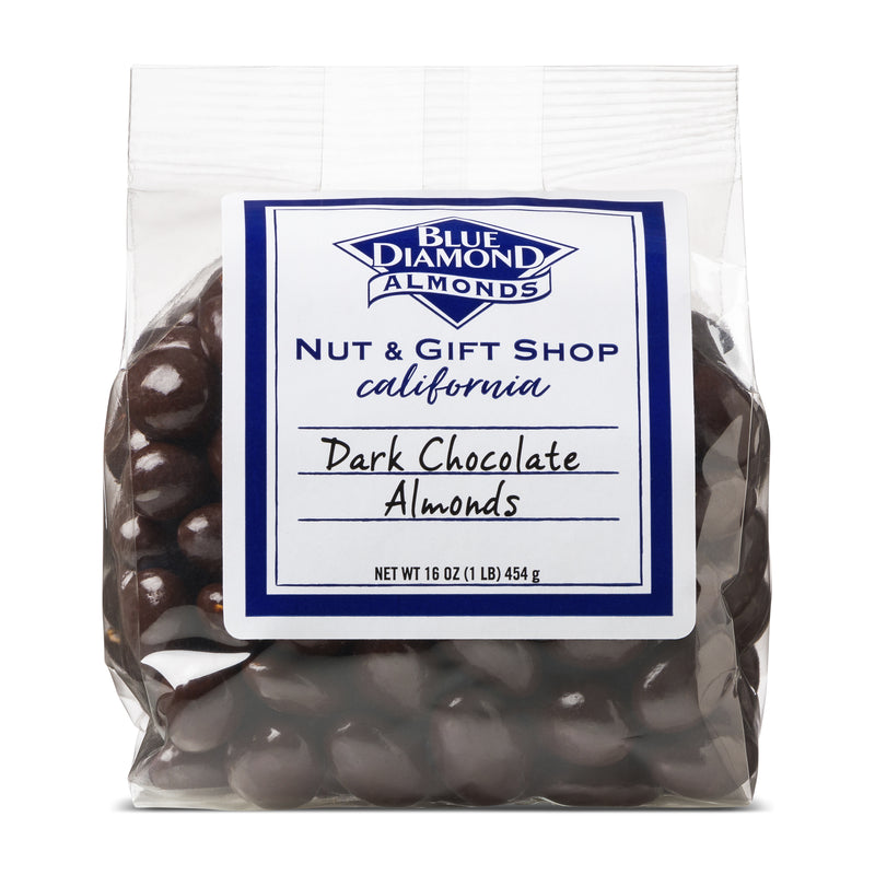 Bag of Dark Chocolate Covered Almonds