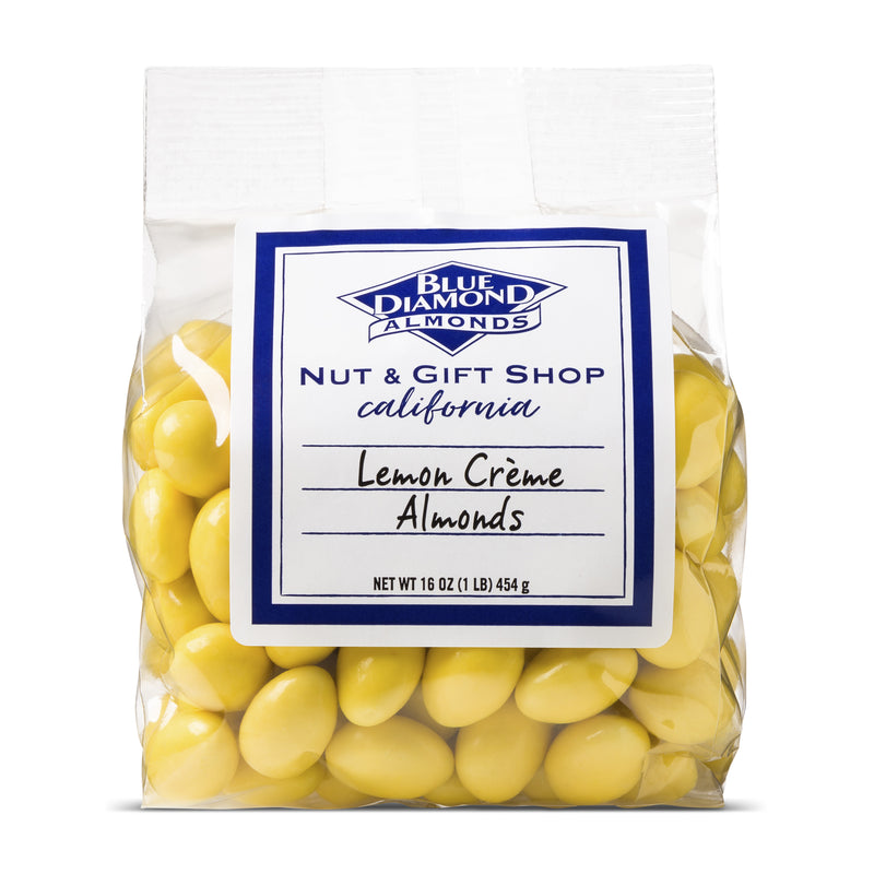 Lemon Crème Covered Almonds