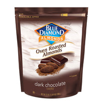 25oz Bag of Oven Roasted Dark Chocolate Almonds