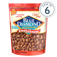 Case of 6 16oz Bag of Smokehouse® Almonds