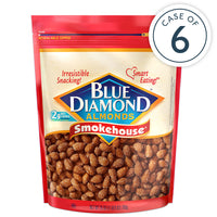 Case of 6, 25 oz Bags of Smokehouse® Almonds