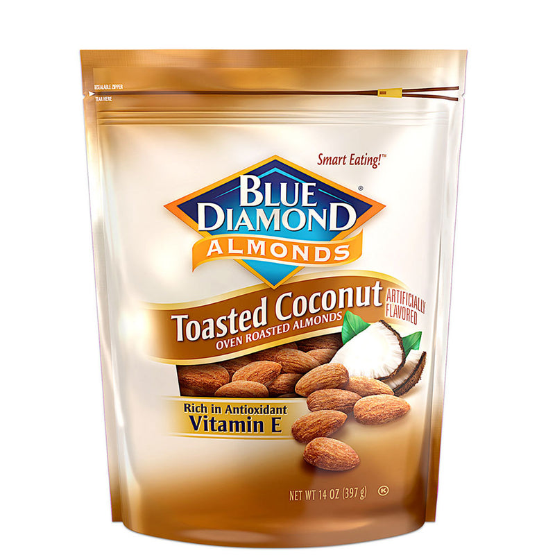 14oz Bag of Toasted Coconut Almonds