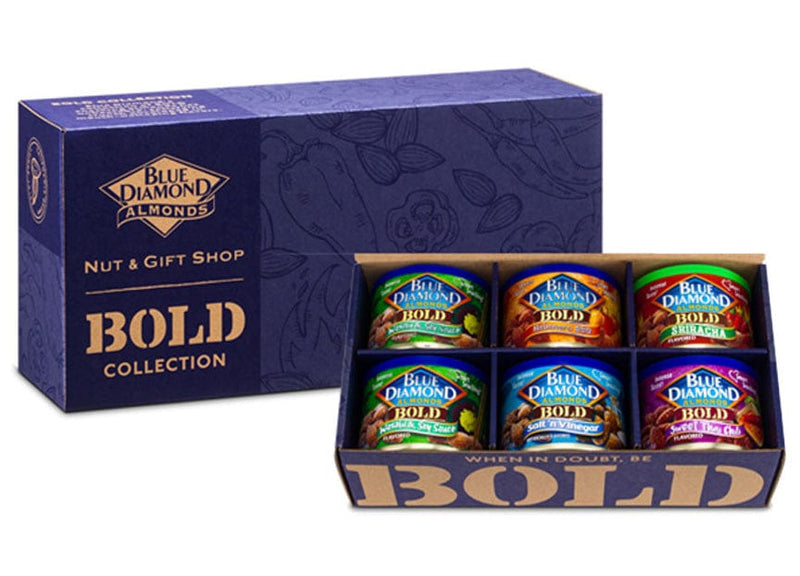Bold & Spicy Flavored Almonds Gift Pack
