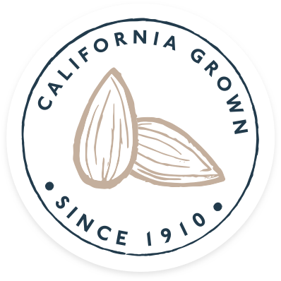 California Grown since 1910 badge