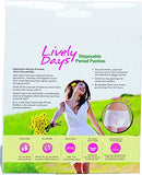 Lively Days Disposable Period Panties-Combo Pack-Pack of 3 X 5 (Medium(For hip circumference of 77-88 cm))