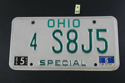 Vintage 1991 OHIO SPECIAL License Plate 4-S8J5  (X49)