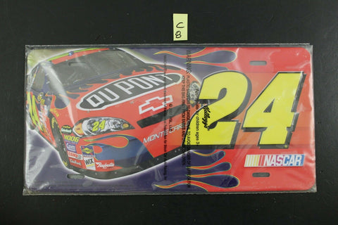 Kellogg's NASCAR License Plate Du Point #24 Monte Carlo Advertising C8