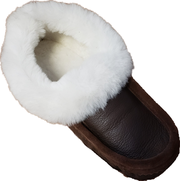 All Sheepskin Moccasin
