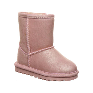 Elle Toddler Boot - Pink Glitter