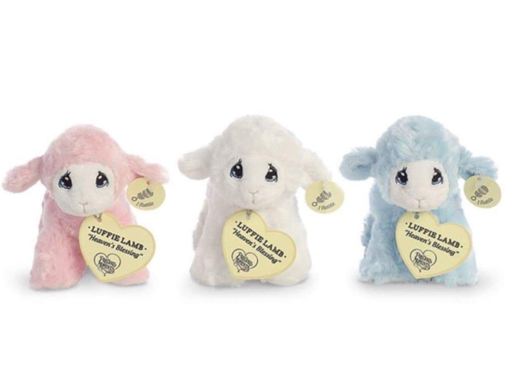 Precious Moments Plush Lamb Rattle