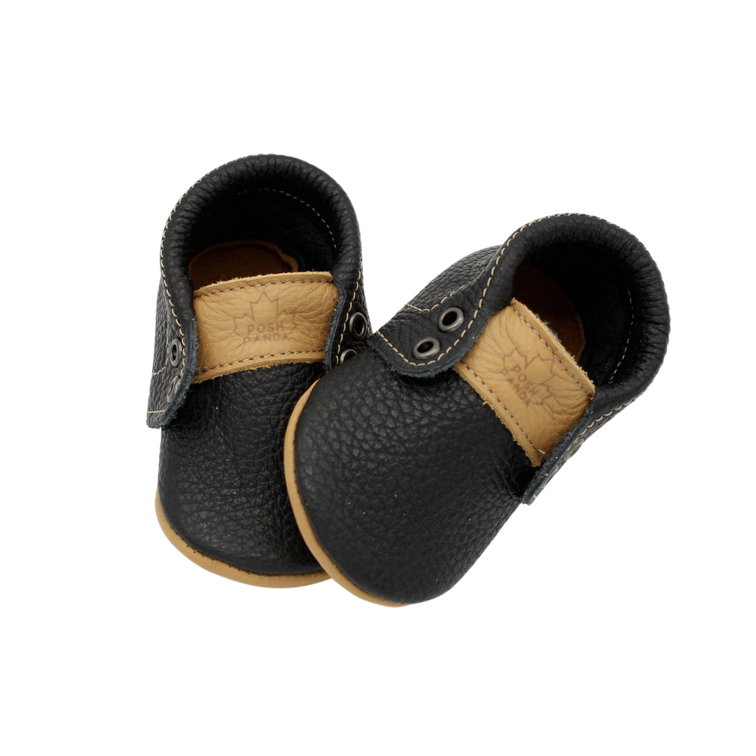 Kids/Baby Mocs - Black Hampton