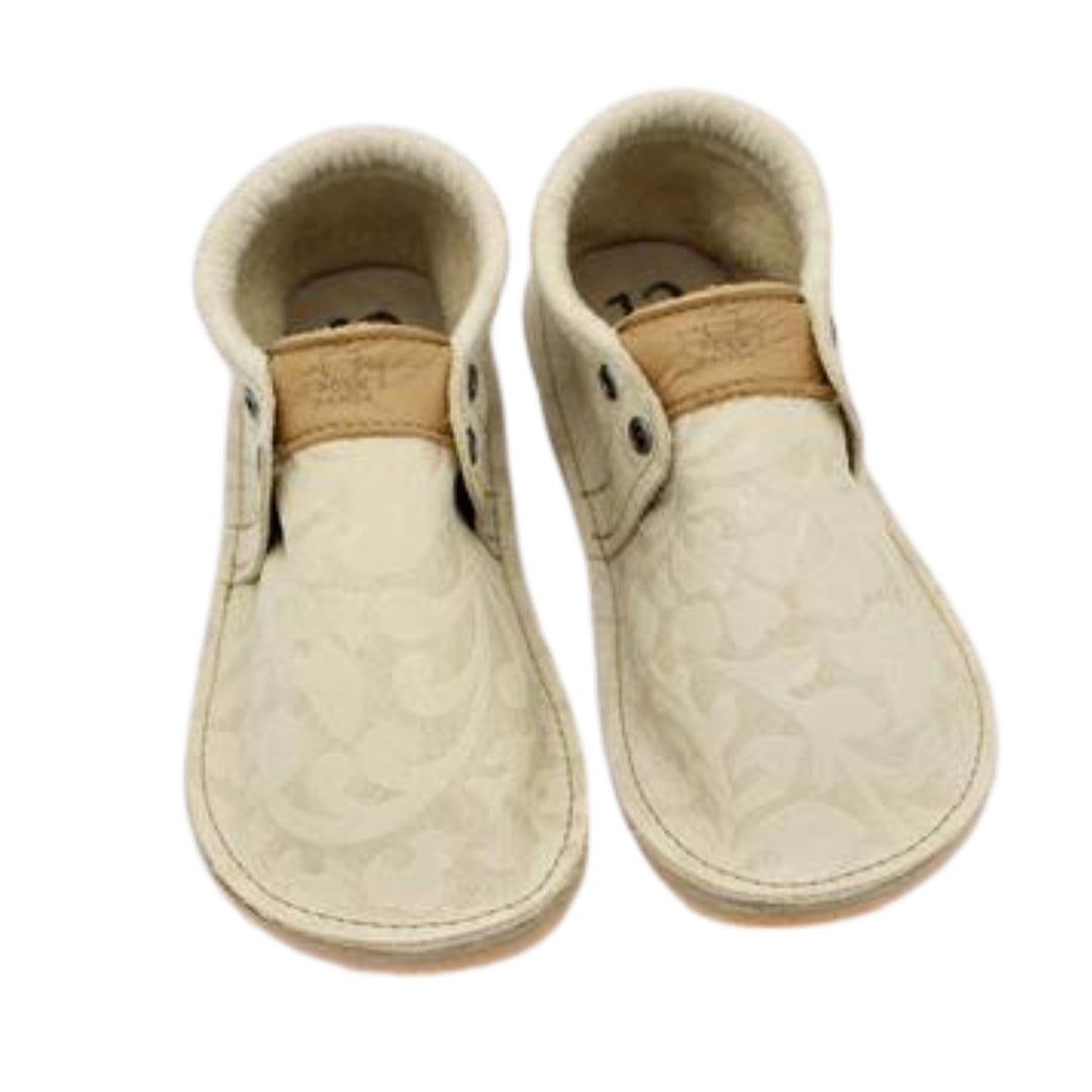 Kids/Youth Hampton Mocs - Creme Brulee